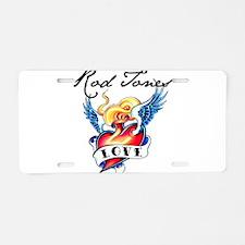 Rod Jones #1 Aluminum License Plate