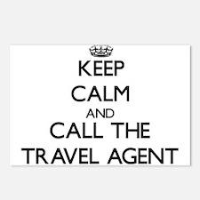 Unique Travel agent Postcards (Package of 8)