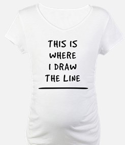 This Is Where I Daw The Line Shirt