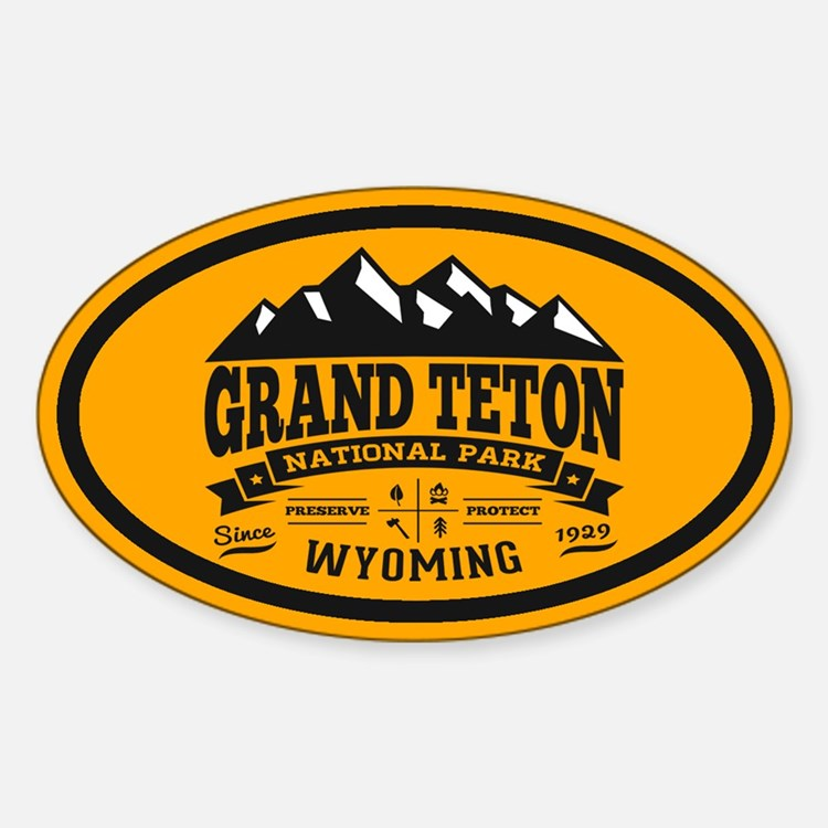 Grand Teton Vintage Decal
