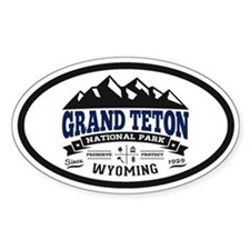Grand Teton Vintage Decal