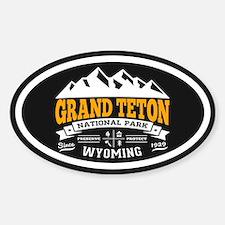 Grand Teton Vintage Sticker (oval)