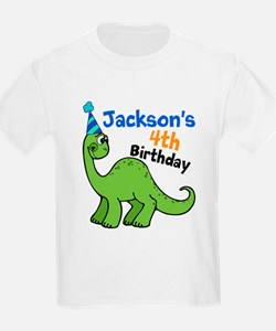 Dinosaur Birthday T-Shirt