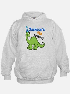 Dinosaur Birthday Hoody