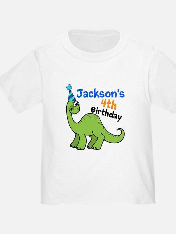 Dinosaur Birthday T