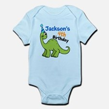 Dinosaur Birthday Infant Bodysuit