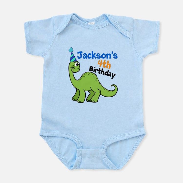 Dinosaur Birthday Infant Bodysuit
