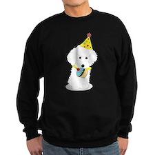 Party Poodle Birthday Dog Sweatshirt
