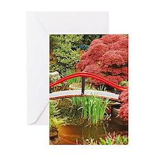 Cute Trees shrubs Greeting Card
