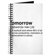 Tomorrow Definition Journal