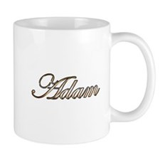 Adam in Gold Mugs