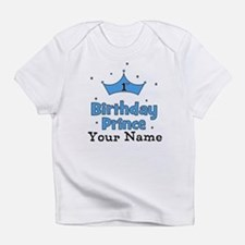 1st Birthday Prince CUSTOM Your Name Infant T-Shir