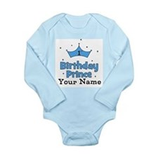 1st Birthday Prince CUSTOM Your Name Body Suit
