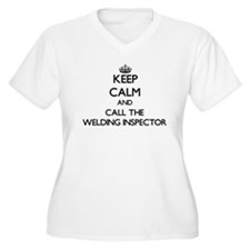 Keep calm and call the Welding Inspector Plus Size