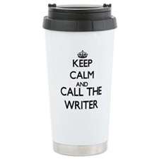 Cute Writers keep calm Travel Mug