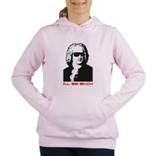 Unique Bach Women's Hooded Sweatshirt
