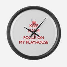 Funny Concert hall Large Wall Clock
