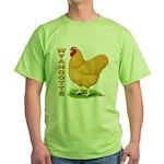 Buff Wyandotte Cock Green T-Shirt