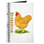 Buff Wyandotte Cock Journal
