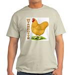 Buff Wyandotte Cock Light T-Shirt