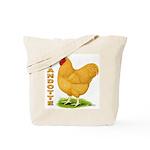 Buff Wyandotte Cock Tote Bag