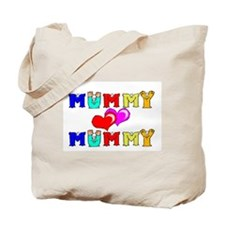Mummy Loves Mummy Cute Tote Bag