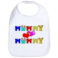 Mummy Loves Mummy Cute Bib
