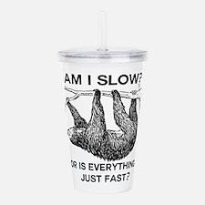 Cute Internet humor Acrylic Double-wall Tumbler