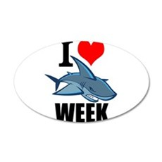 I 3 shark week Wall Decal