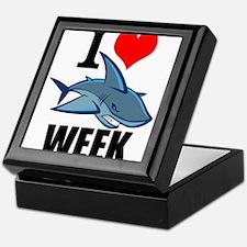 I 3 shark week Keepsake Box