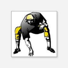 Football Lineman Sticker