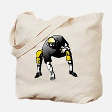 Football Lineman Tote Bag