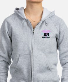 Funny Labor delivery Zip Hoodie