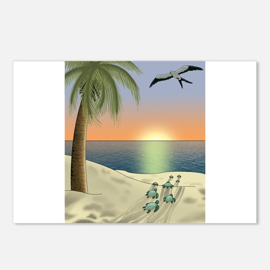 Sunset Beach Postcards (Package of 8)