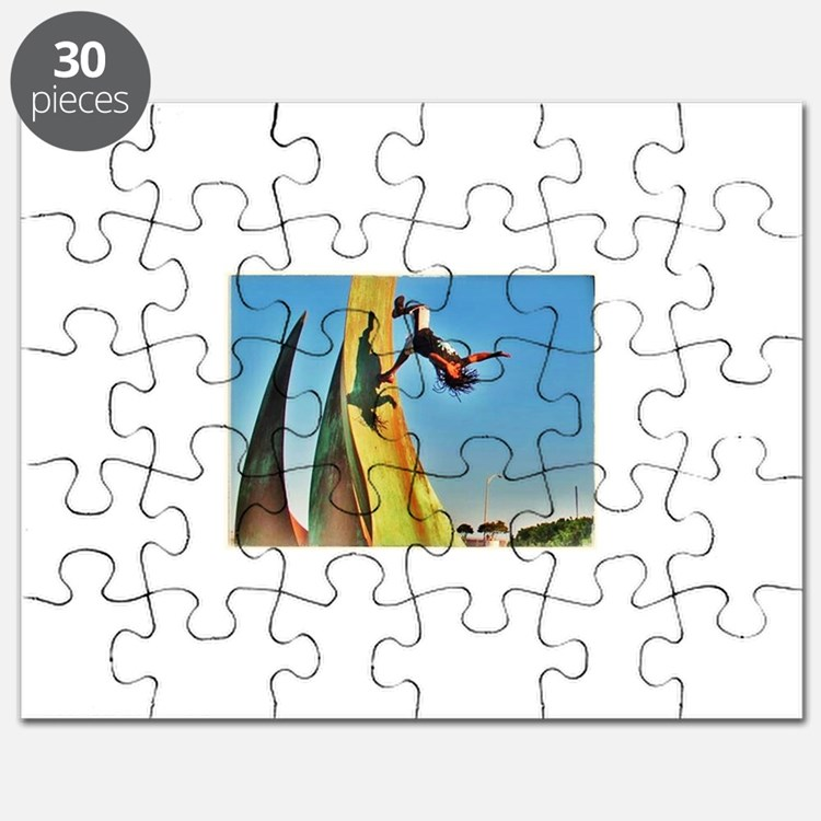 Cute Ninja warrior Puzzle