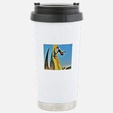 Unique Ninja warrior Travel Mug
