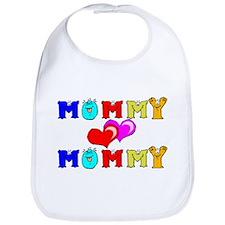 Mommy Loves Mommy Cute Bib