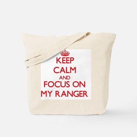 Cute My ranger Tote Bag