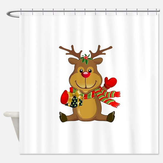 Unique Seasonal and holiday Shower Curtain