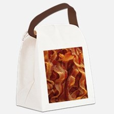bacon standard Canvas Lunch Bag