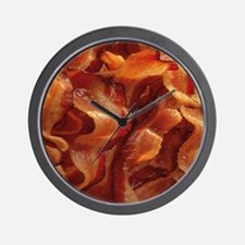bacon standard Wall Clock