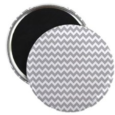 Chevrons White Lt Gray 5x7 Magnets