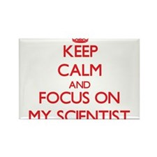 Keep Calm and focus on My Scientist Magnets