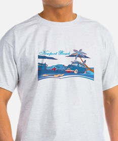 Newport Beach Surf Culture T-Shirt