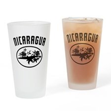 Nicaragua Nature Drinking Glass