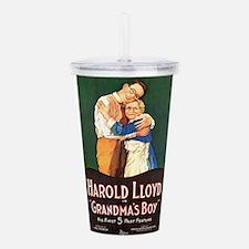 harold lloyd Acrylic Double-wall Tumbler