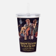 the son of the sheik Acrylic Double-wall Tumbler