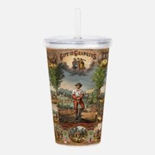 agriculture Acrylic Double-wall Tumbler