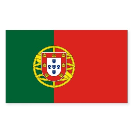 Portugal Rectangle Sticker