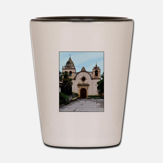 Cute Pebble beach california Shot Glass